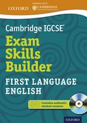 Cover for Cambridge IGCSERG Exam Skills Builder: First Language English