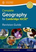 Cover for Geography for Cambridge IGCSERG Revision Guide