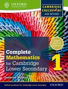 Cover for Complete Mathematics for Cambridge Secondary 1 Student Book 1