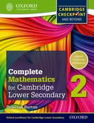 Cover for Complete Mathematics for Cambridge Secondary 1 Student Book 2