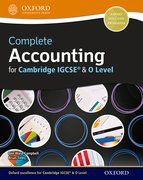 Cover for Complete Accounting for Cambridge O Level & IGCSERG