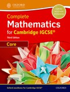 Cover for Complete Mathematics for Cambridge IGCSERG Student Book (Core)