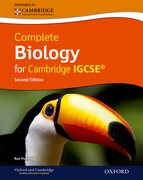 Cover for Complete Biology for Cambridge IGCSERG with CD-ROM (Second Edition)