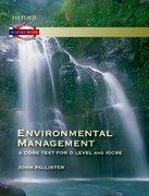 Cover for Environmental Management: A Core Text for O Level and IGCSE