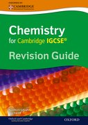 Cover for Cambridge Chemistry IGCSERG Revision Guide