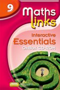Cover for MathsLinks 3: Y9 Interactive Essentials OxBox CD-ROM