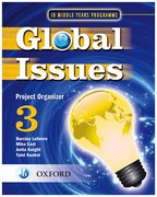 Cover for IB Global Issues Project Organizer 3