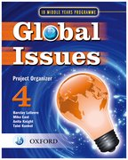 Cover for IB Global Issues Project Organizer 4