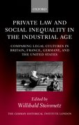 Cover for Private Law and Social Inequality in the Industrial Age