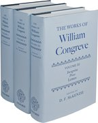 Cover for The Works of William Congreve