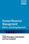 Human Resource Management Ethics and Employment