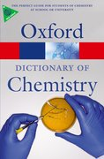 Cover for Oxford Dictionary of Chemistry