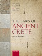 Cover for The Laws of Ancient Crete, c.650-400 BCE