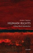 Cover for Human Rights: A Very Short Introduction