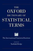 Cover for The Oxford Dictionary of Statistical Terms