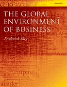 Cover for The Global Environment of Business