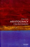 Cover for Aristocracy: A Very Short Introduction