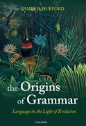 Cover for The Origins of Grammar
