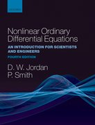 Cover for Nonlinear Ordinary Differential Equations