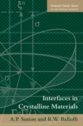 Cover for Interfaces in Crystalline Materials