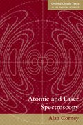 Cover for Atomic and Laser Spectroscopy