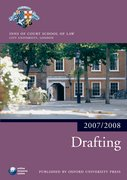 Cover for Drafting 2007-2008
