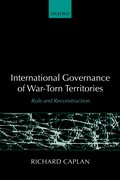 Cover for International Governance of War-Torn Territories