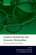Cover for Context-Sensitivity and Semantic Minimalism