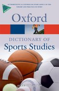 Cover for A Dictionary of Sports Studies