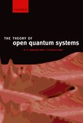 Cover for The Theory of Open Quantum Systems
