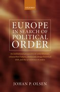 Cover for Europe in Search of Political Order