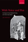 Cover for With Voice and Pen