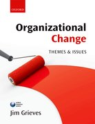 Cover for Organizational Change: Themes and Issues