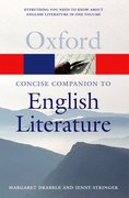 Cover for The Concise Oxford Companion to English Literature