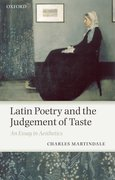 Cover for Latin Poetry and the Judgement of Taste