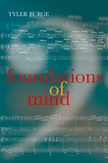 Cover for Foundations of Mind