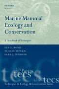 Cover for Marine Mammal Ecology and Conservation