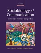 Cover for Sociobiology of Communication