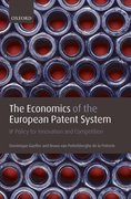 Cover for The Economics of the European Patent System