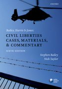 Cover for Bailey, Harris & Jones: Civil Liberties Cases, Materials, and Commentary