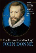 Cover for The Oxford Handbook of John Donne