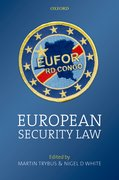 Cover for European Security Law