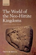 Cover for The World of Neo-Hittite Kingdoms