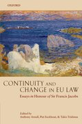 Cover for Continuity and Change in EU Law