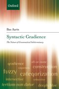Cover for Syntactic Gradience
