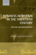 Cover for Business in Britain in the Twentieth Century