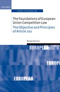 Cover for The Foundations of European Union Competition Law