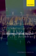 Cover for A Historical Greek Reader