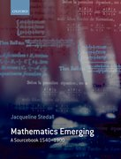 Cover for Mathematics Emerging