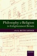 Cover for Philosophy and Religion in Enlightenment Britain